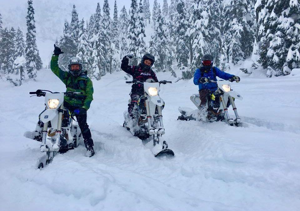 New snowbikes!